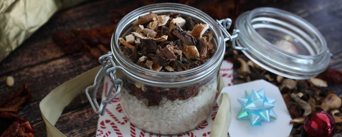 DIY risotto jar : the best gift for foodies !