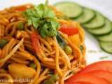 Recipe Vegetarian mee goreng