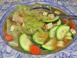 Recipe Quck & easy cabbage tofu soup