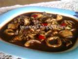 Recipe Sotong masak hitam (squid in black ink)