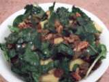 Recipe Kale with ginger gold apples salad