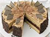 Recipe Triple-layer cappuccino cake