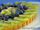 Recipe Easy blueberry kiwi lemonade tart recipe