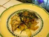 Recipe Oven-roasted fish with fennel