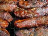 Recipe Bbq rib & pork rub, bourbon mopping sauce and bourbon bbq sauce