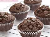 Recipe Triple chocolate muffins