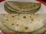 Recipe Pulka (with green leafy vegetables)