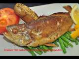 Recipe Tea-smoked yellowtail fish