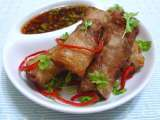 Recipe Rice paper spring roll