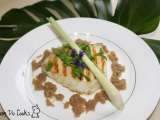 Recipe Cod fillet in lemon grass shallot sauce