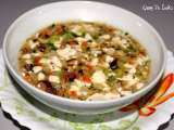 Tau foo kang (smooth thick tau foo soup) - featured in group recipes
