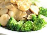 Recipe Prince oyster mushrooms and broccoli