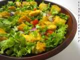 Recipe Fish salad with an indian twist