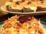 Recipe (vegan) almond joy cupcakes