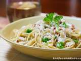 Recipe Crab garlic noodles