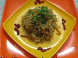 Recipe Stir fried veggie noodles (stir fried noodles cooked with a combo of veggies)