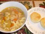 Recipe Crockpot cookin: chicken noodle soup