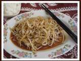 Recipe Chinese saucy bean-sprouts stir-fry