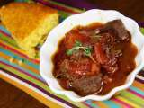 Recipe Tuscan beef stew with honey cornbread