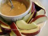 Recipe Peanut butter honey yogurt dip