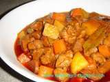Recipe Filipino menudo recipe (pork & liver stewed with potato and carrot)