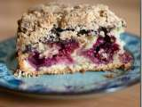 Recipe Chocolate raspberry east coast coffee cake
