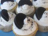 Recipe Cookies and cream cupcakes