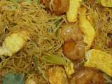 Recipe Singapore fried rice noodles (sing chow mai fun)