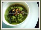 Recipe Coriander onion chutney