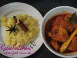 Recipe Chicken rendang padang & tumeric glutinous rice