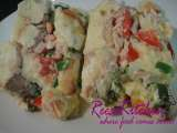 Recipe Tuna bread pudding