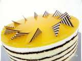 Recipe Mango mirror cake