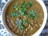 Recipe Whole moong dal curry