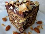 Recipe Almond joy layer cake