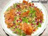Recipe Mixed salad