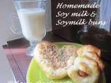 Recipe Homemade soy milk & vegetarian soy milk whole wheat bread