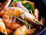 Recipe Assam curry prawns
