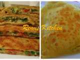Recipe Egg paratha [flat bread stuffed with egg]