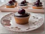 Recipe Cherry ripe cupcakes