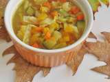 Recipe Hearty vegetable soup, easy minestrone