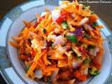 Recipe Carrot sambol (salad)