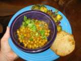 Recipe Meatless monday: channa bhatura