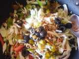 Recipe Orange, peppers and cabbage salad