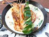 Recipe Creamy butter prawns