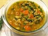 Recipe Chicken and bulgur wheat soup
