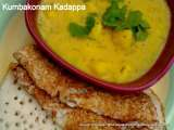 Recipe Kumbakonam kadappa (potato gravy from the city of kumbakonam)