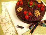 Recipe Venezuelan black cake or christmas cake - torta negra