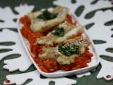 Recipe Cod in winter vegetables--a piece of polish christmas tradition