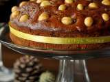 Recipe Butterless rum fruit cake