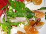 Recipe Thai style spicy salted eggs salad (yam khai khem)
